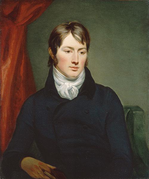 Ramsey Reinagle. Portrait of John Constable. 1799