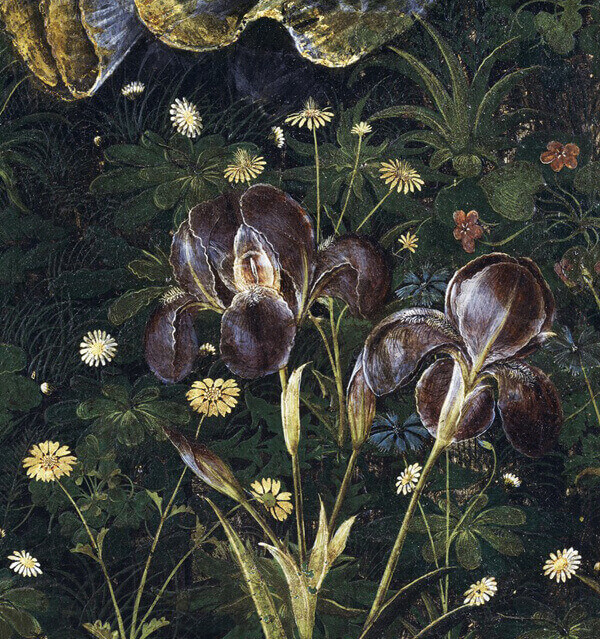 Botticelli Spring detail