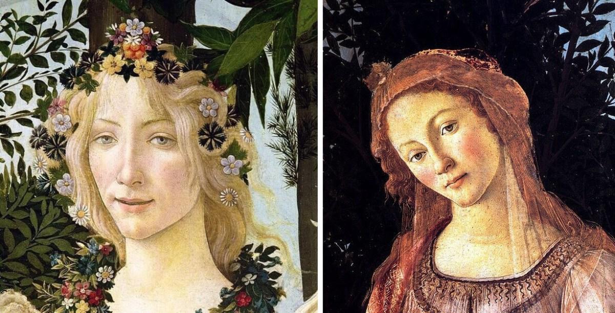 Botticelli. Spring (details)