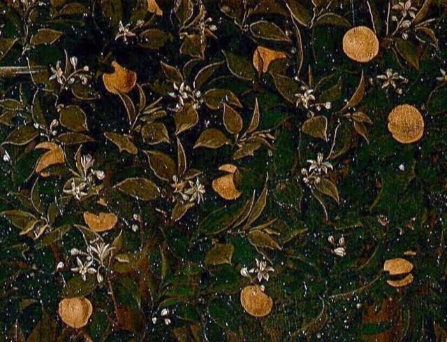Botticelli Spring detail