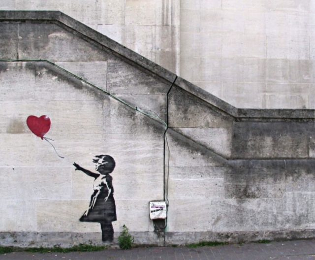 Banksy. A Girl With a Balloon