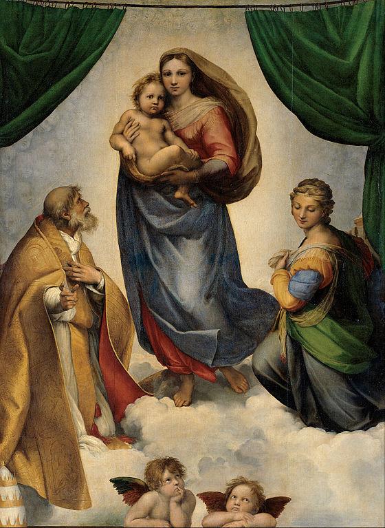 Raphael. Sistine Madonna