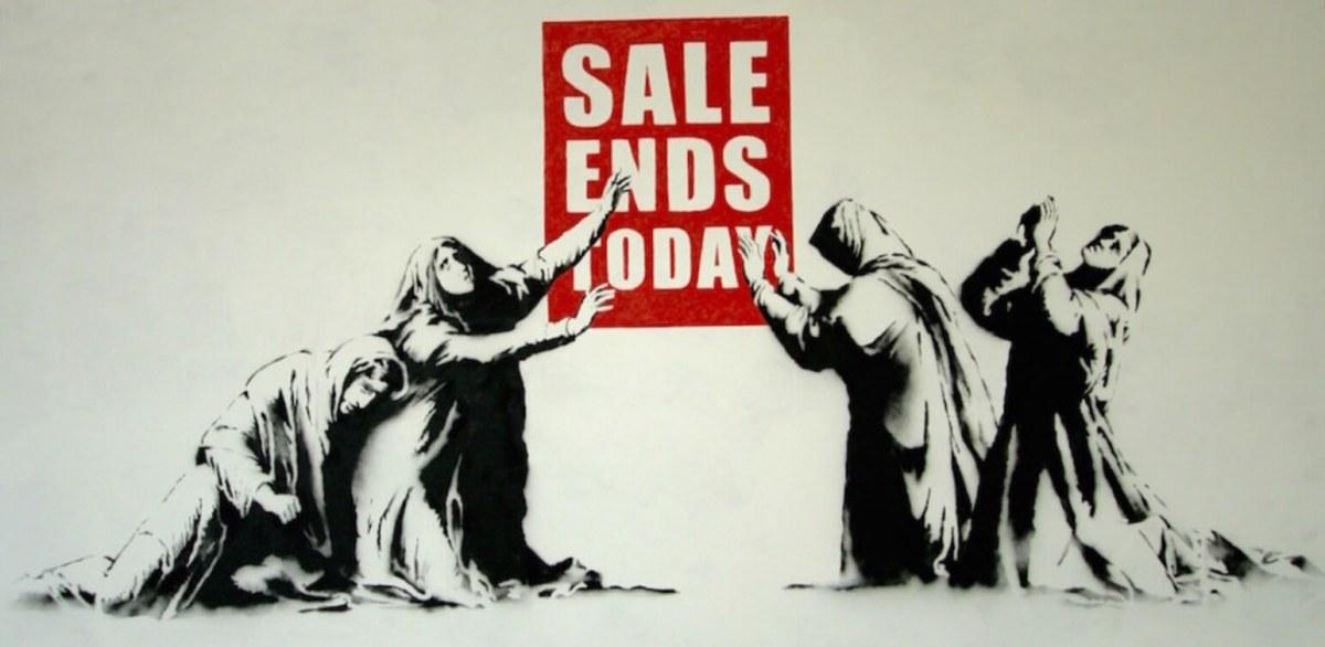 Banksy. Consumer hook