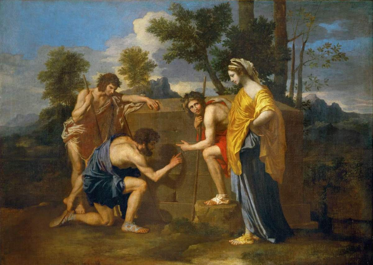 Nicolas Poussin. The Shepherds of Arcadia
