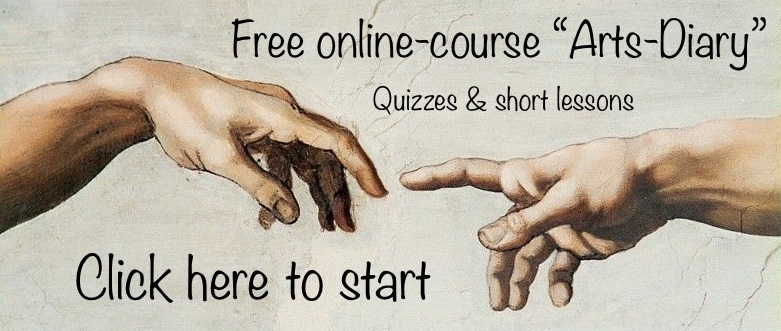 """Link to Free online-course """"Arts-Diary"""""""