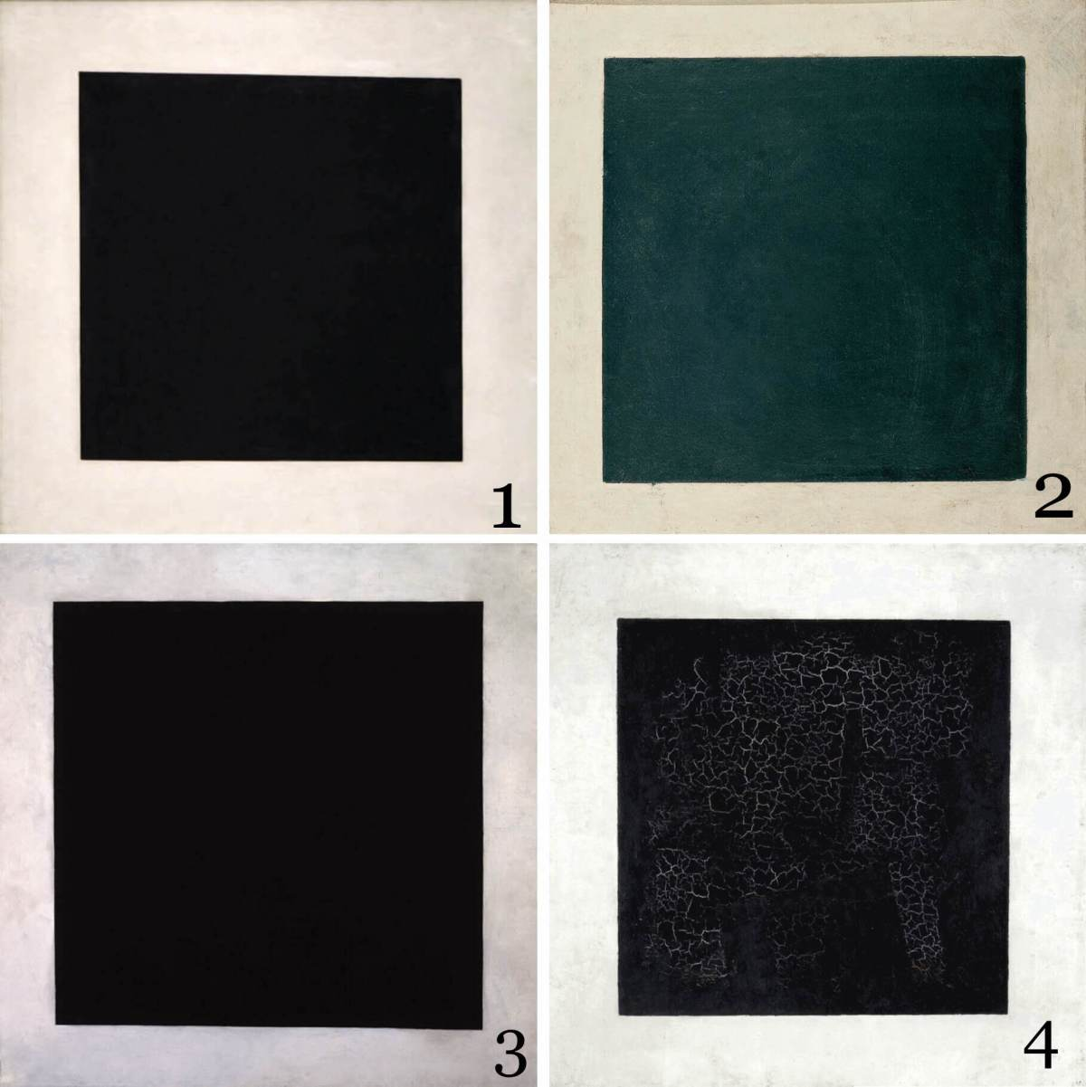 Malevich's art-works