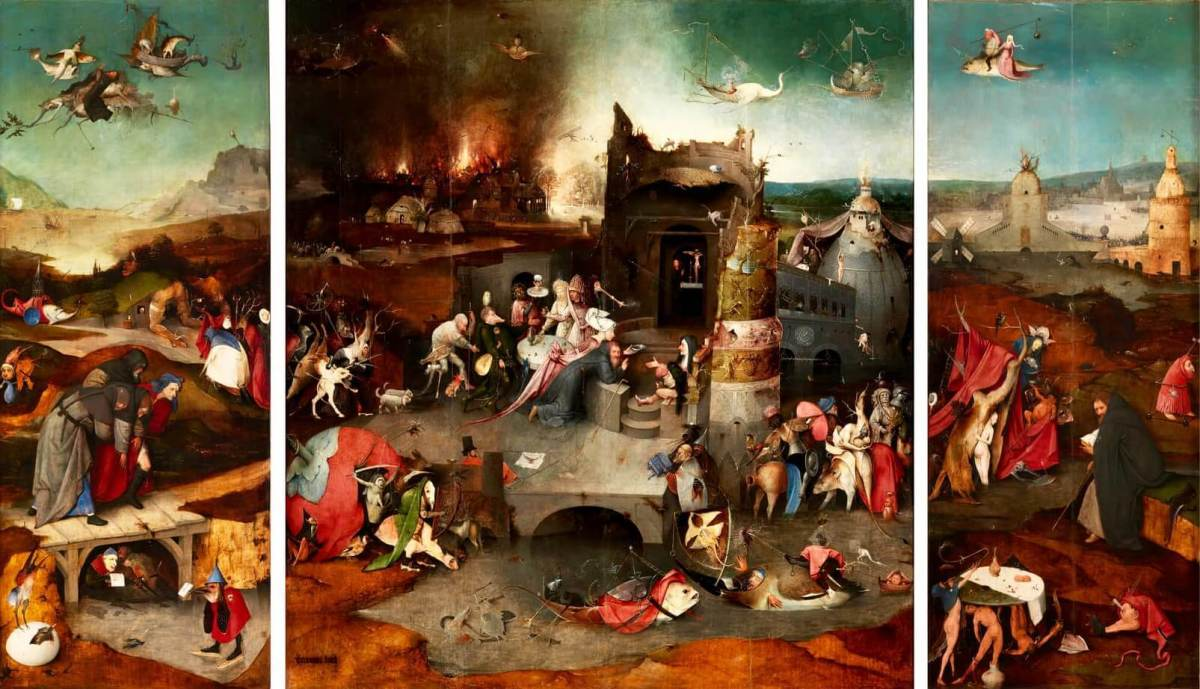 Bosch The Temptation of St. Anthony
