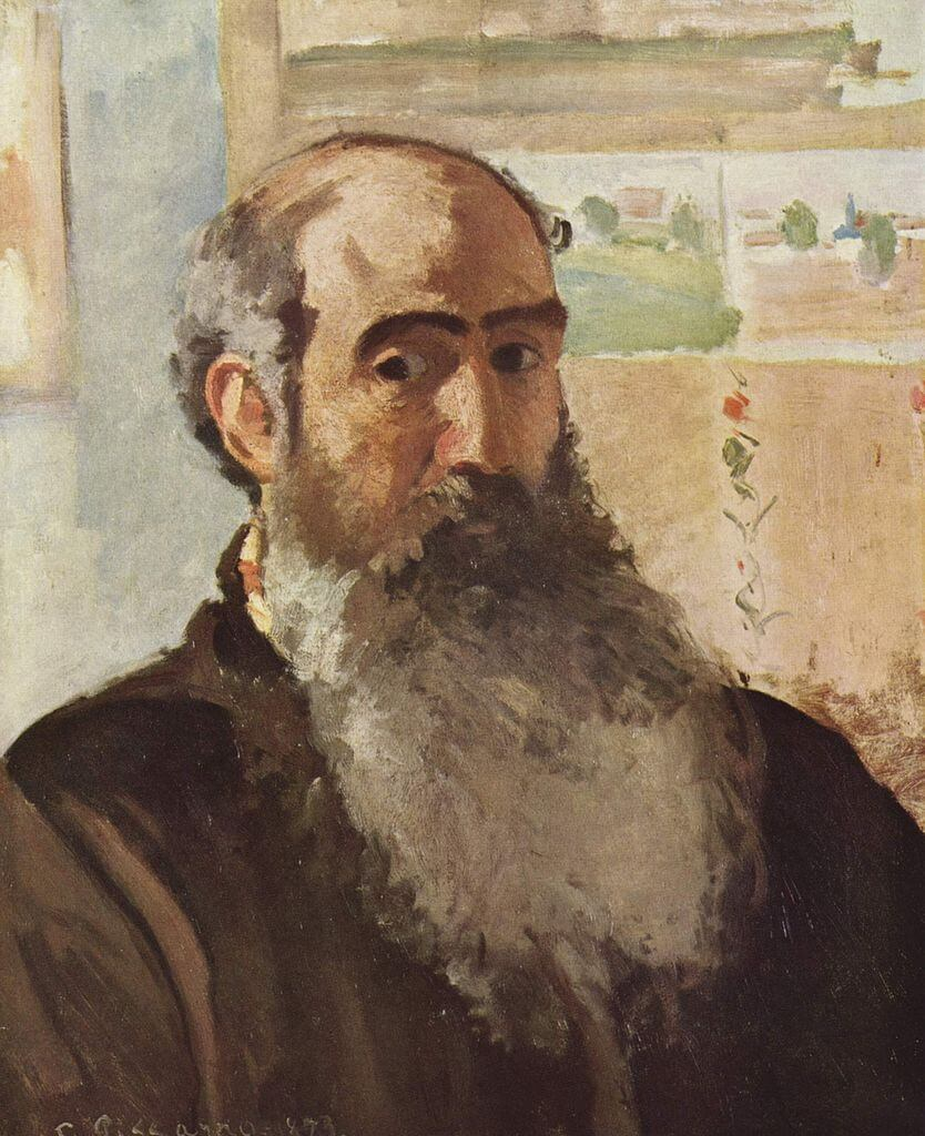 Pissarro Self Portrait 1873