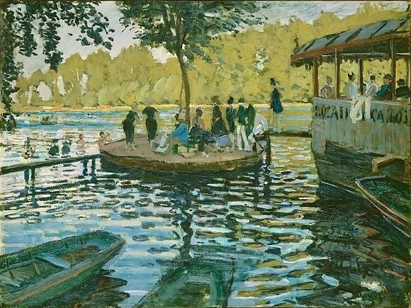 Monet the paddling pool