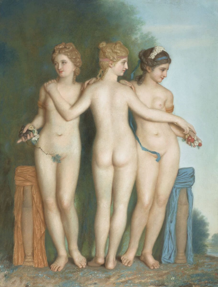 Jean-Etienne Lyotard. Three Graces.