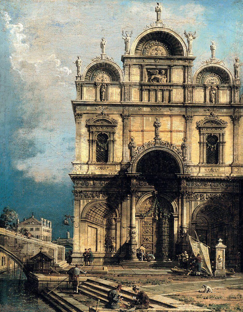 Canaletto. Scuola San Marco.