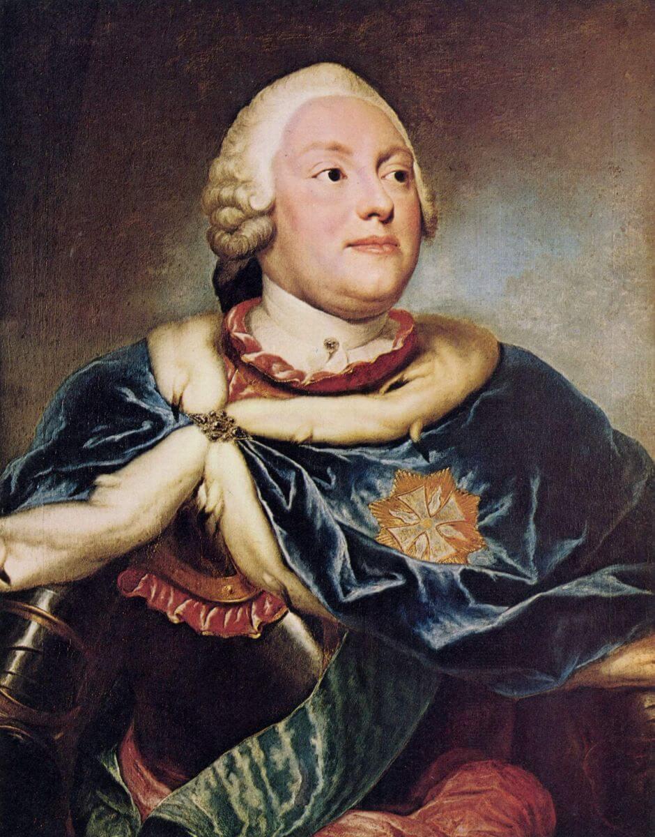Anton Rafael Mengs. Elector Frederick Christian.