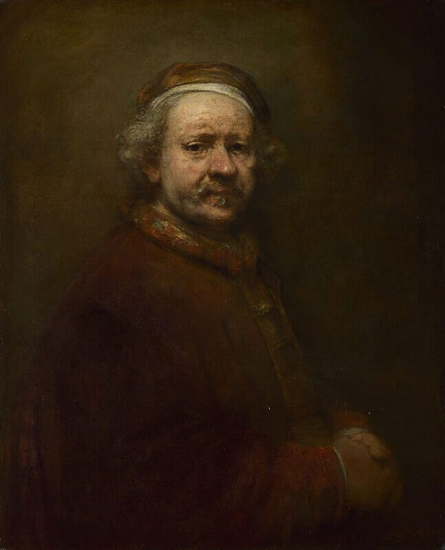 Rembrandt. Self-portrait at the Age of 63 Years.