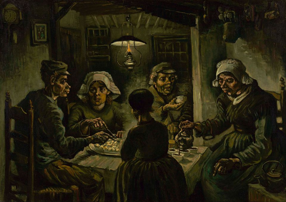 Vincent Van Gogh. Potato eaters.