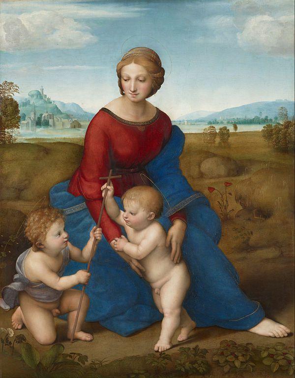 Rafael Santi. Madonna of the Meadow.