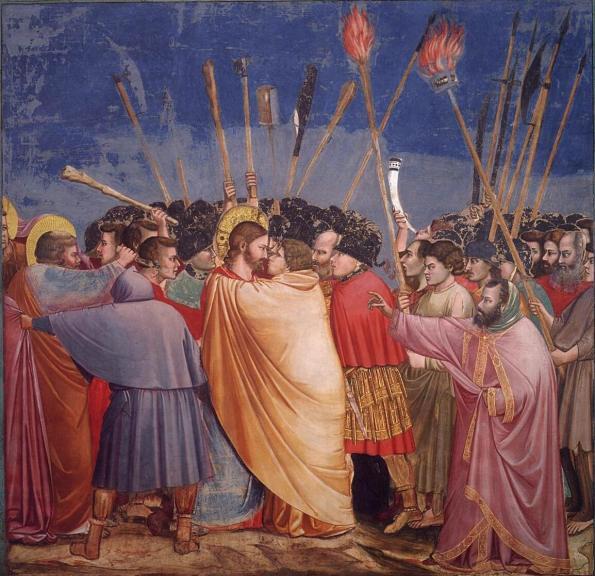 Giotto. Kiss of Judas. 1303-1305.