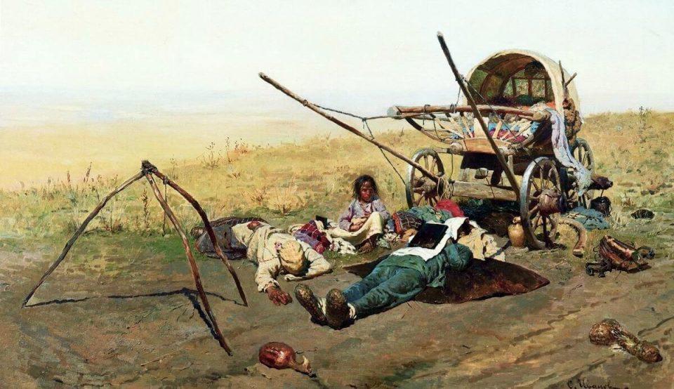 Sergei Ivanov. The death of a migrant.