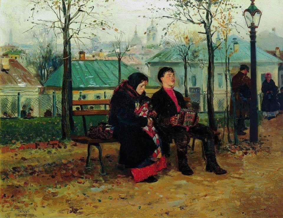 Vladimir Makovsky. On the Boulevard.