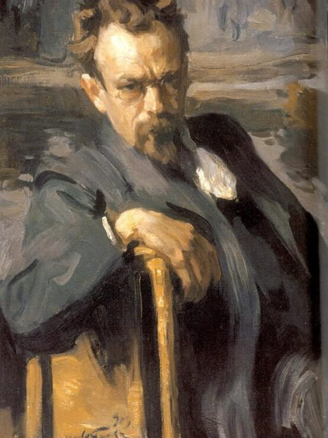 Osip Braz. The portrait of Sergei Ivanov.