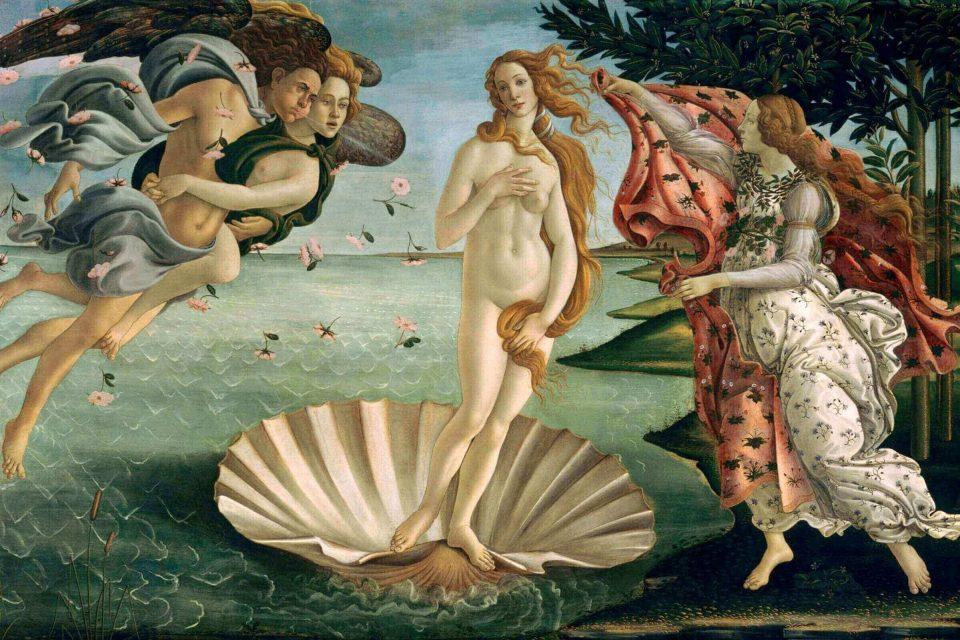 Sandro Botticelli.TheBirth of Venus.