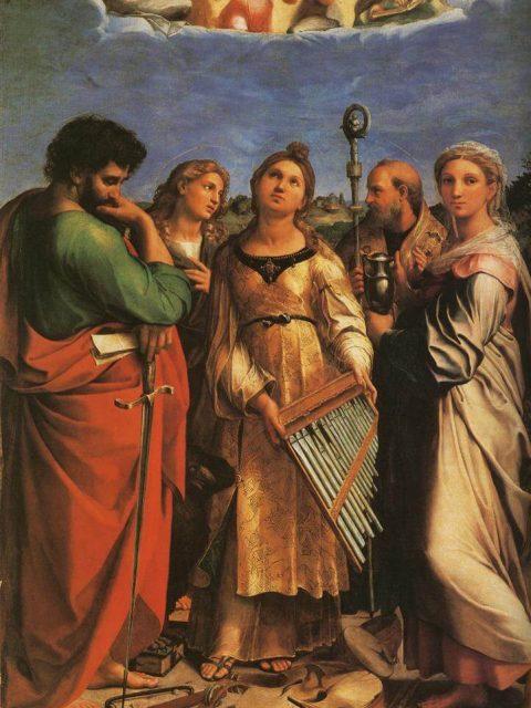 Rafael. Saint Cecilia.