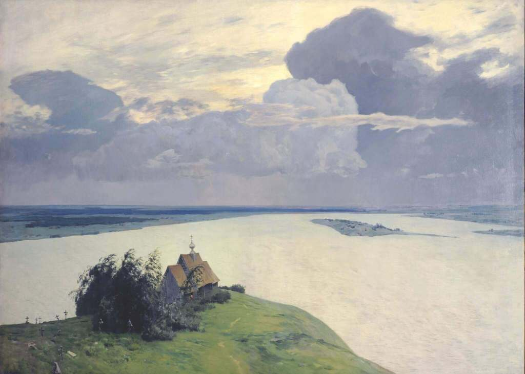 Isaac Levitan. Above the Eternal Peace.