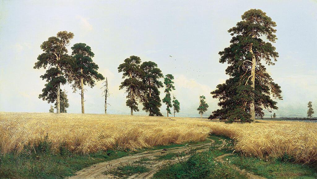 Ivan Shishkin. Rye.