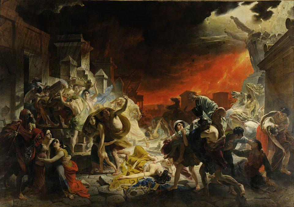 Karl Bryullov. Last Day of Pompeii.