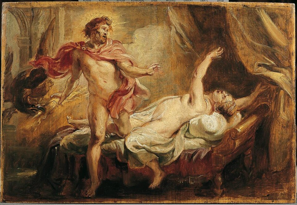 Rubens. Death of Semele