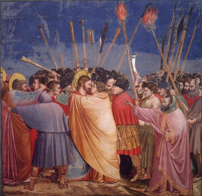 Giotto. Kiss of Judas