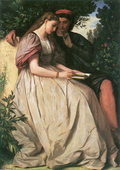 Anselm von Feuerbach. Francesca and Paolo.