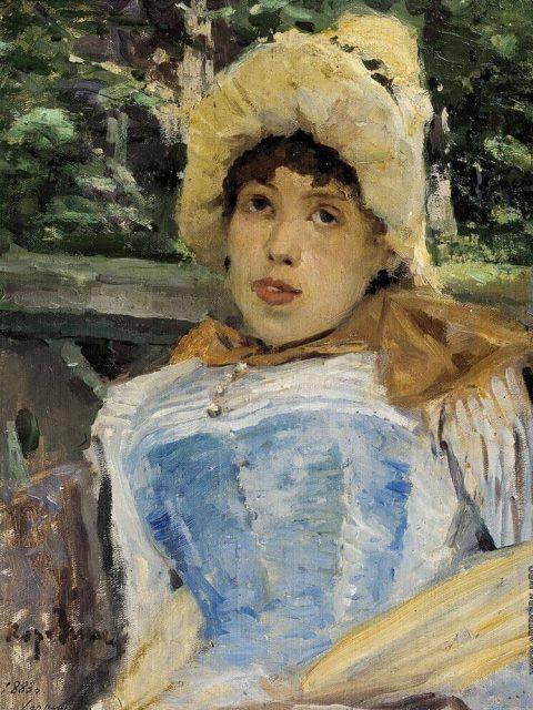 Konstantin Korovin. Chorus girl. 1883.
