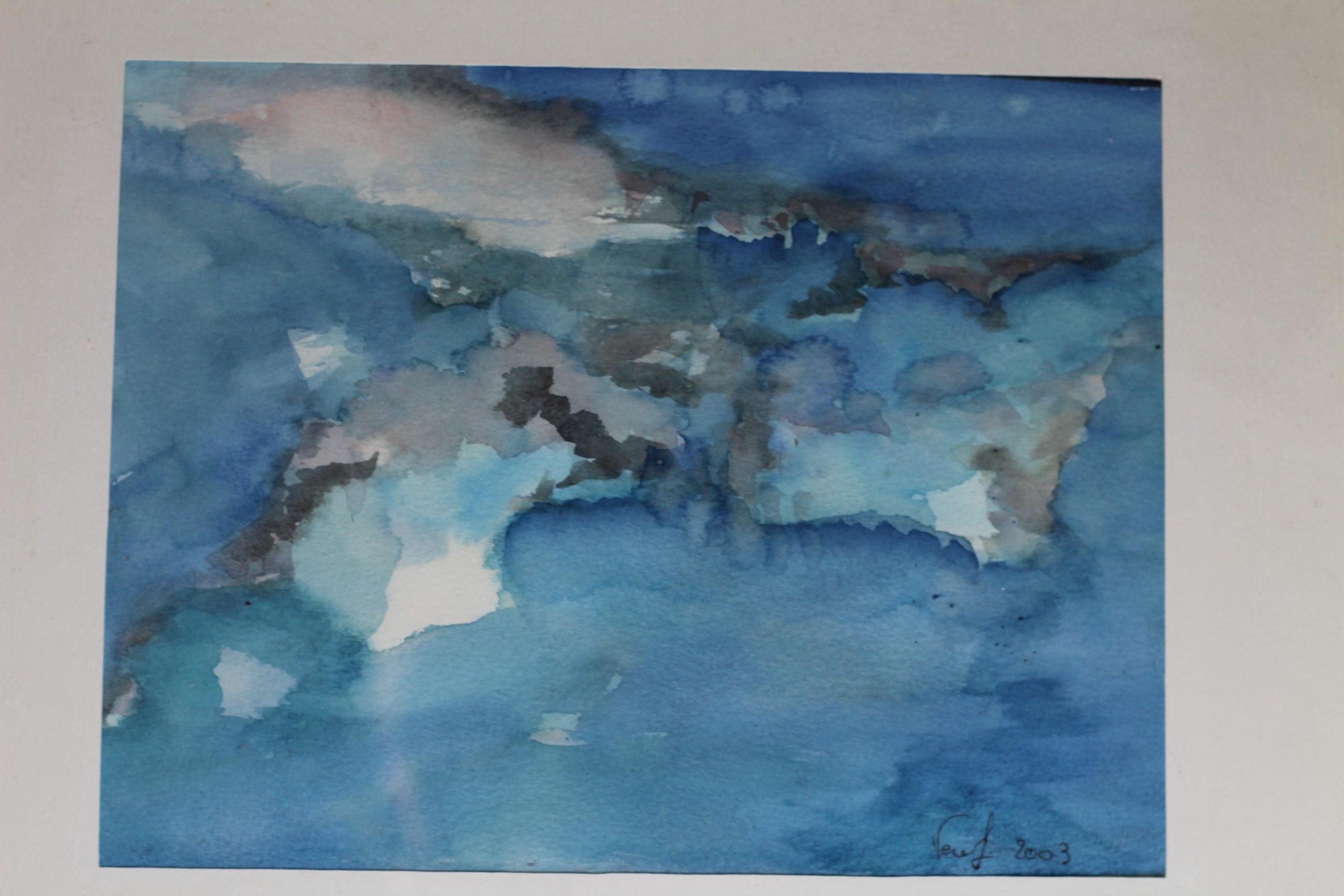 Peinture : Eau aquarelle 22x29 (1999)