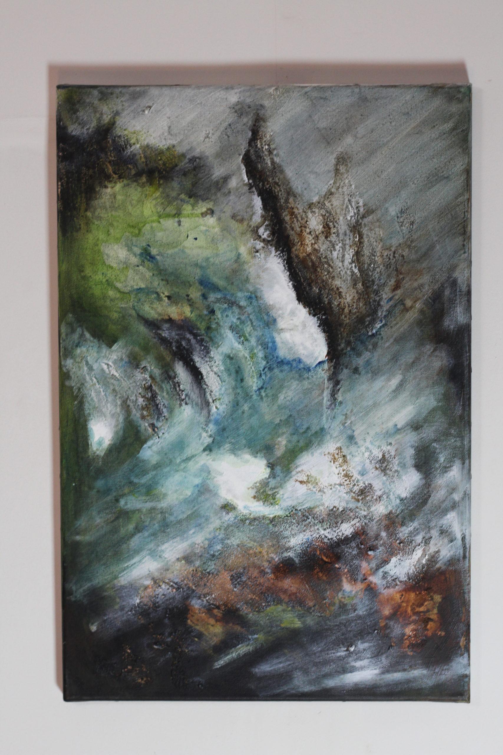 Peinture : Bruits de vagues (Véronique Fuchs-Sublon)