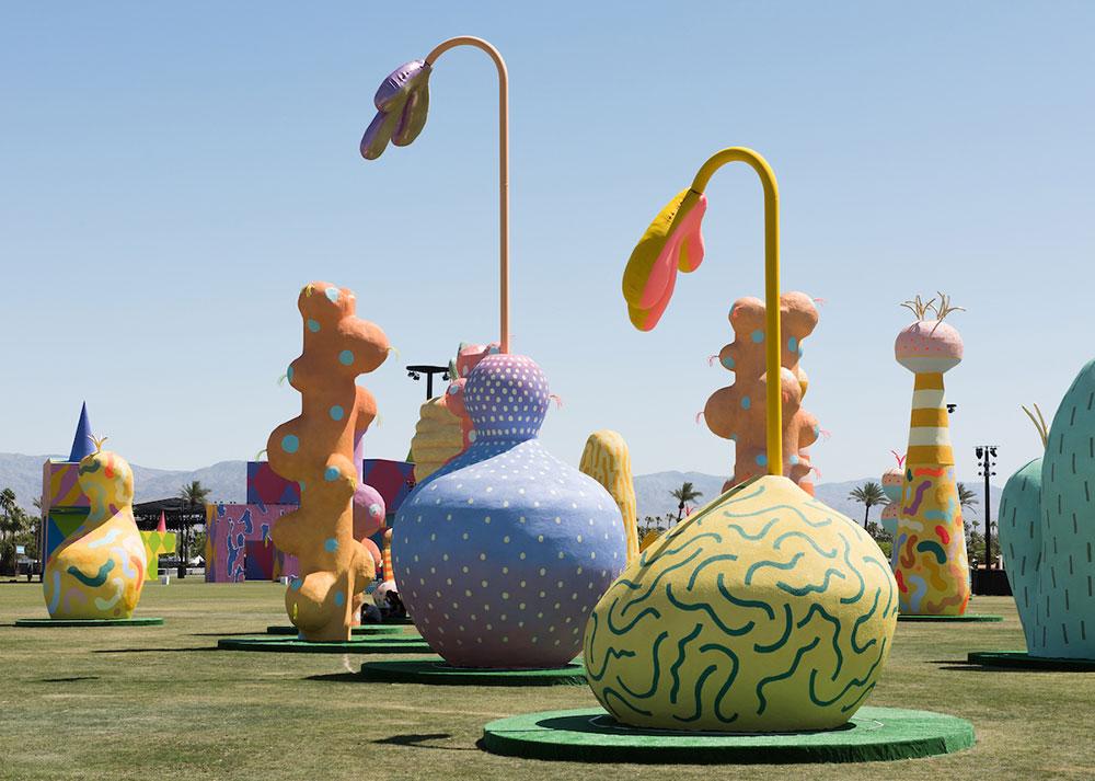 SAAH Alumnus Adam Frezzas Artwork Featured At Coachella News College Of The Arts