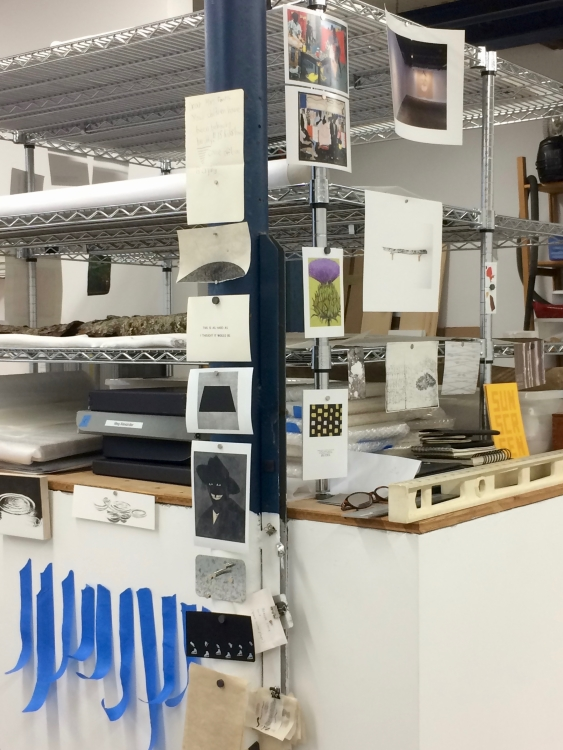 Meg Alexander's studio
