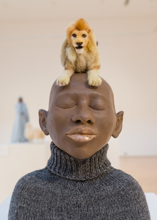 Sculpture by Mary Kenny.