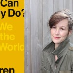 Cover art for WHAT CAN A BODY DO?: HOW WE MEET THE BUILT WORLD by Sara Hendren (Fiction/Creative Nonfiction Fellow '18), published by Penguin Random House August 2020 (author photo of by Freddie Hendren Funck).