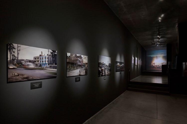 Andrew Mroczek and Juan Jose Barboza-Gubo (Photography Fellows '19), PADRE PATRIA/Fatherland (2015), installation view.