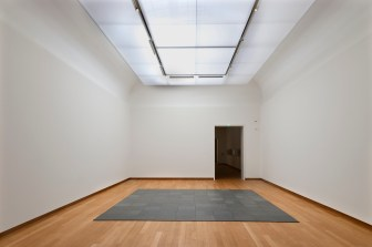 Carl Andre 10×10 Altstadt Lead Square 1967 Lead 500 ×500 cm Photo Stedelijk Museum Amsterdam
