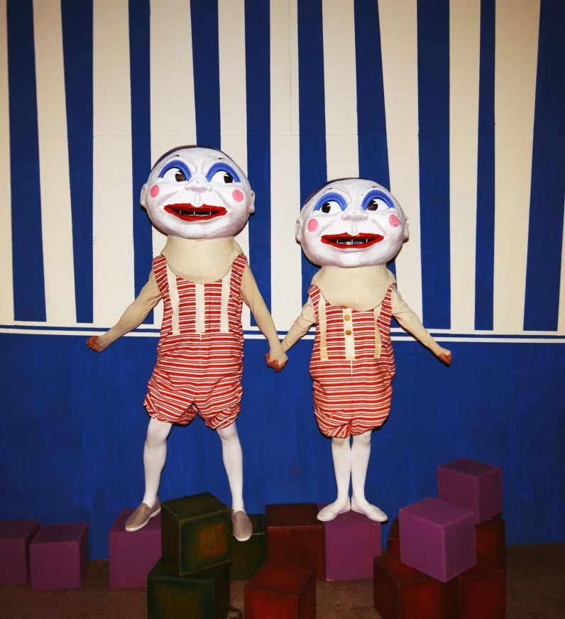 Adventures in Wonderland 2015 © Jason Joyce - Tweedles Masks