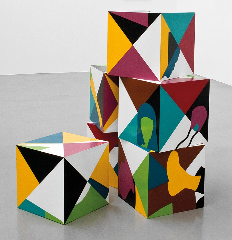 Teresa Burga Cubes 1968Private CollectionPhoto: Courtesy the artist and Galerie Barbara Thumm © Teresa Burga