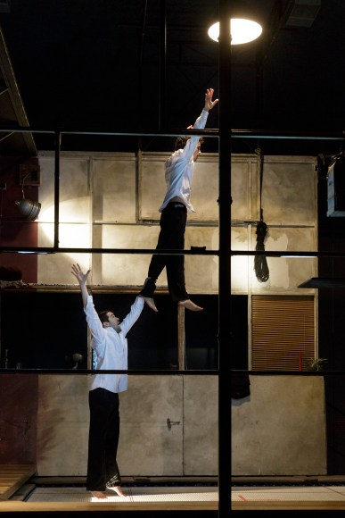 Compagnie MPTA's Barons Perchés at Platform Theatre, Central St Martin's © Christophe Raynaud de Lage