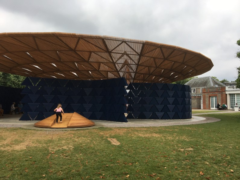 Serpentine Pavilion 2017 by Francis Kéré © Phillipa Ellis Arts Aloud