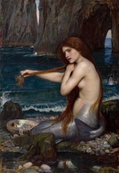 John William Waterhouse, A mermaid.