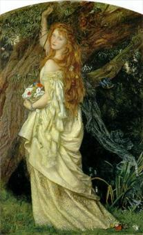 Arthur Hughes, Ophelia and he will not come again