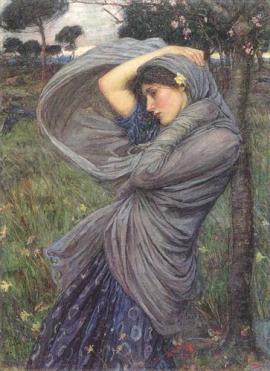 John William Waterhouse, Boreas (1903)