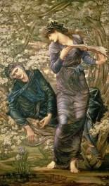 Edward Burne-Jones, L'enchantement de Merlin