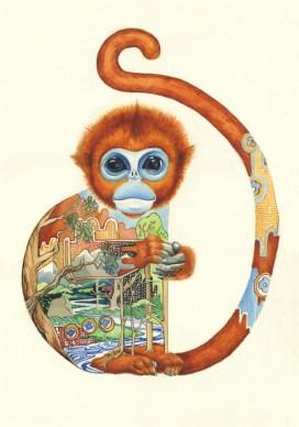 Daniel Mackie, Golden Snub- Nosed Monkey