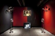 Vue de l'exposition Théâtre du Monde à la Maison Rouge, salle Duo